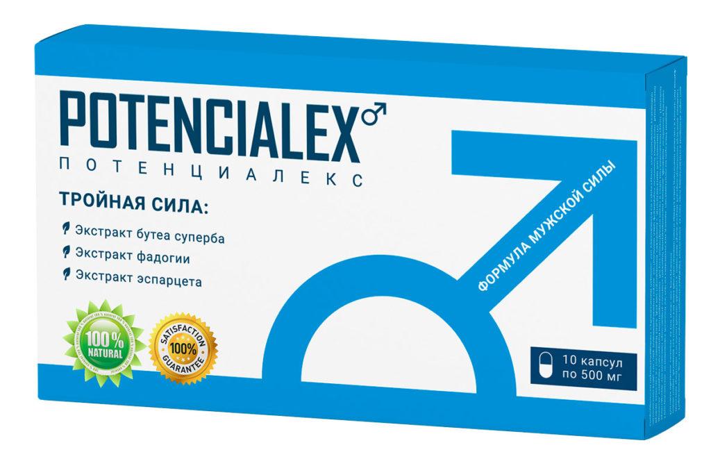 Potencialex — лучшее средство для улучшения потенции