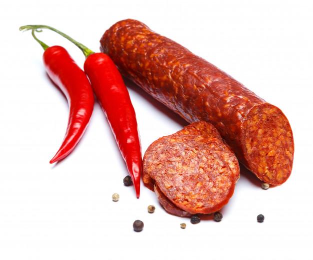 """Свиная колбаса """"чоризо"""" в домашних условиях – кулинарный рецепт"""