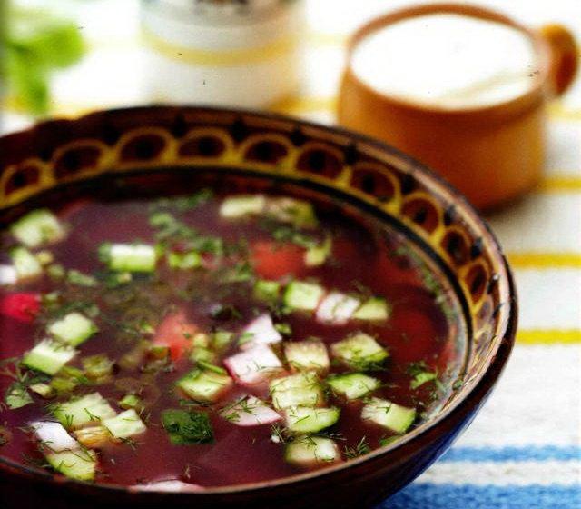 Ботвинья, пошаговый рецепт с фото