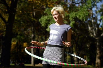 Хула-хуп – популярное устройство для эффективного похудения (81 фото + видео)