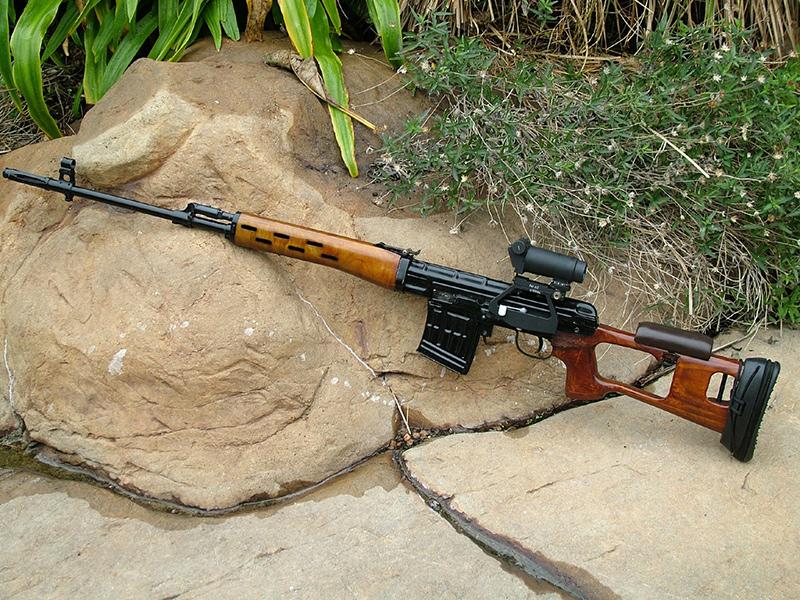 Снайперская винтовка драгунова свд патрон калибр 7,62 мм