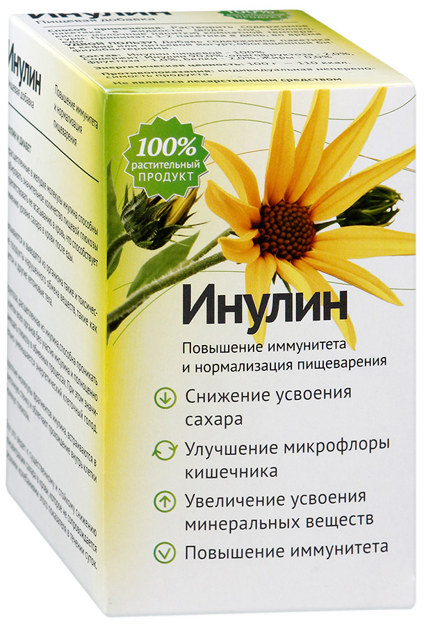 Инулин: польза и вред, применение, что это такое, где содержится
