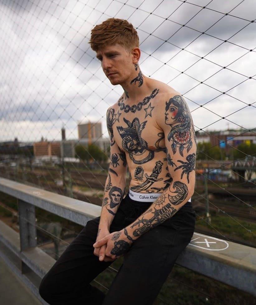 Что нужно знать про тату в стиле олд скул: особенности и примеры.
