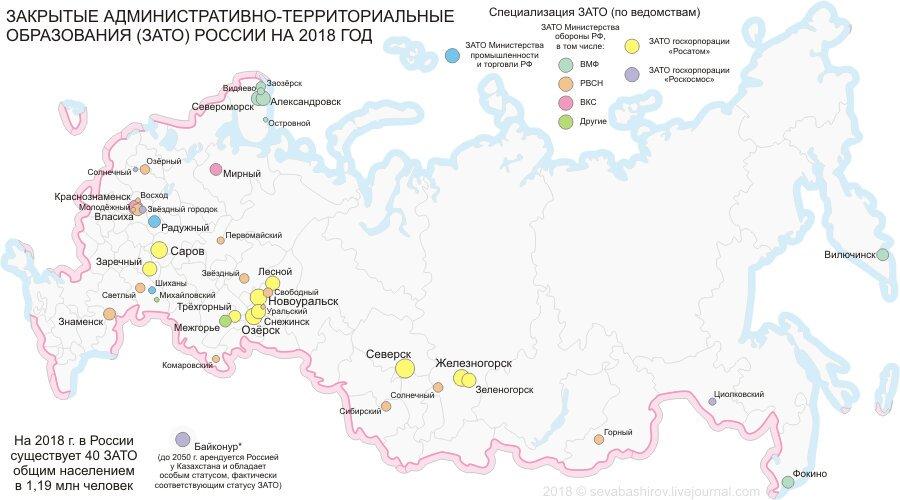 Закрытые города ссср и россии — история россии