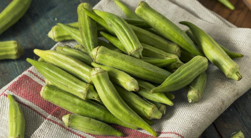 Бамия – кулинарный рецепт