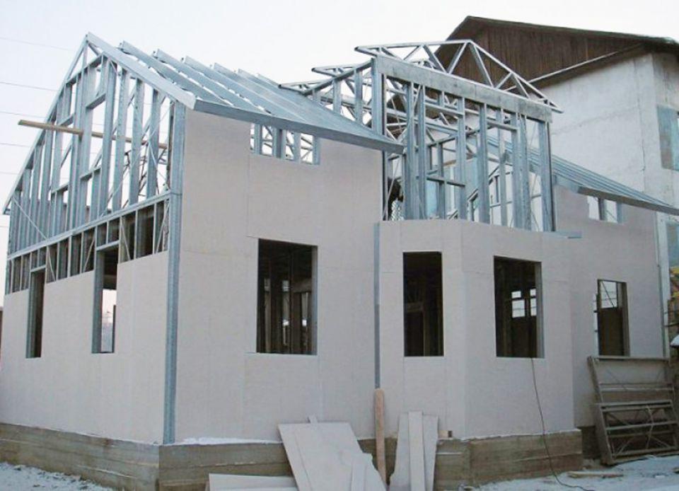 Строительство склада из лстк - пошаговая инструкция