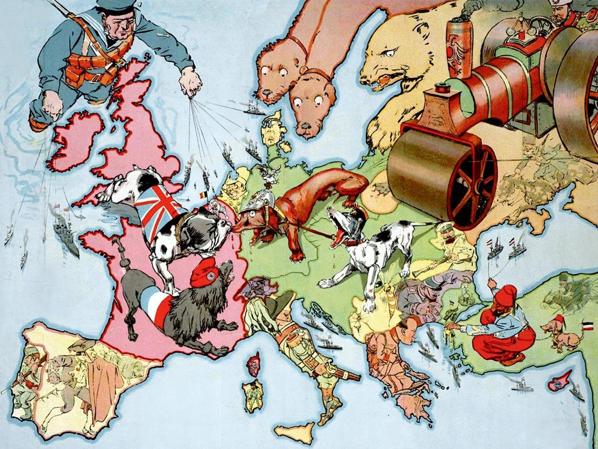 Первая мировая война 1914-1918: причины, события, итоги