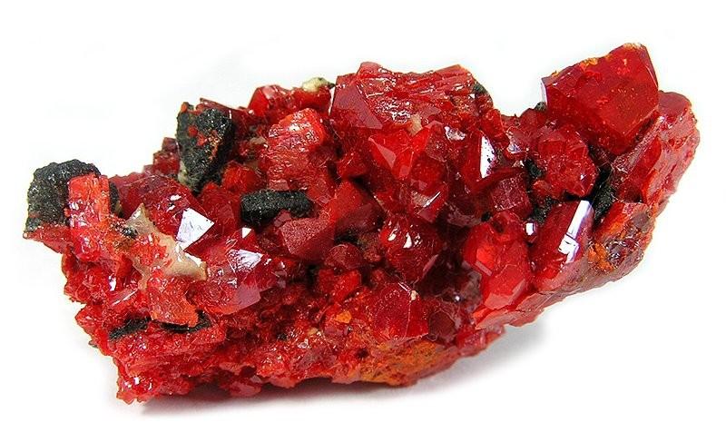 Киноварь: ртутная руда, какая формула, красный минерал