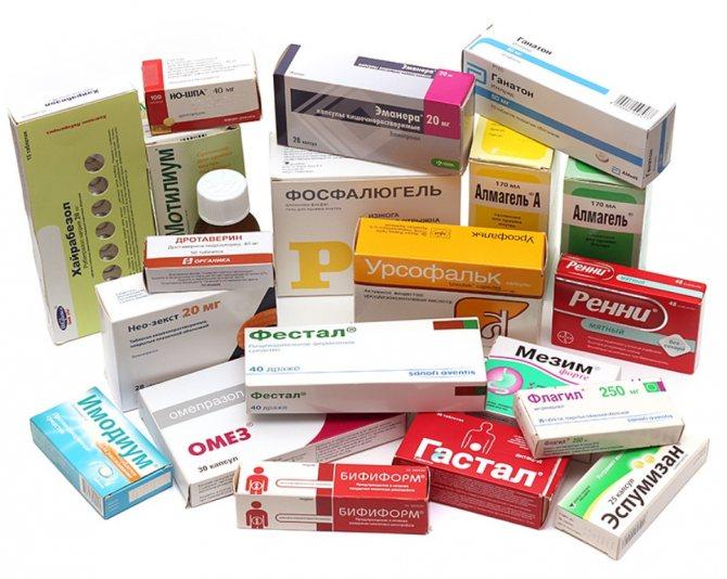 Язва желудка: симптомы и лечение у взрослых, проявление осложнений