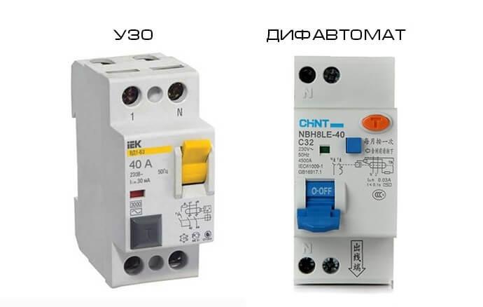 Что такое узо в электрике, принцип его работы, параметры, производители