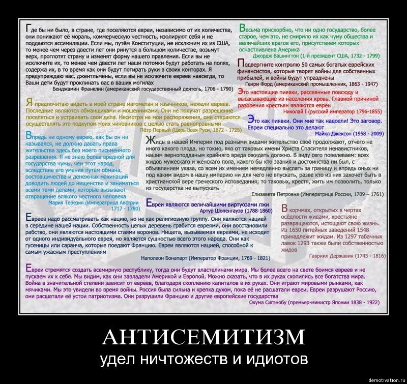 Антисемитизм - что такое? причины антисемитизма. антисемитизм в россии
