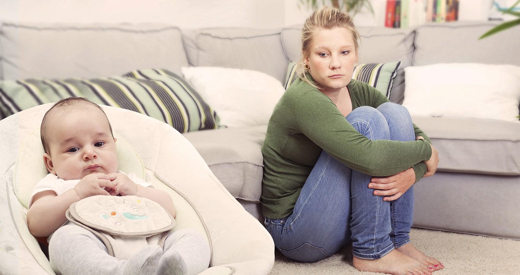 Послеродовая депрессия   десять признаков послеродовой депрессии
