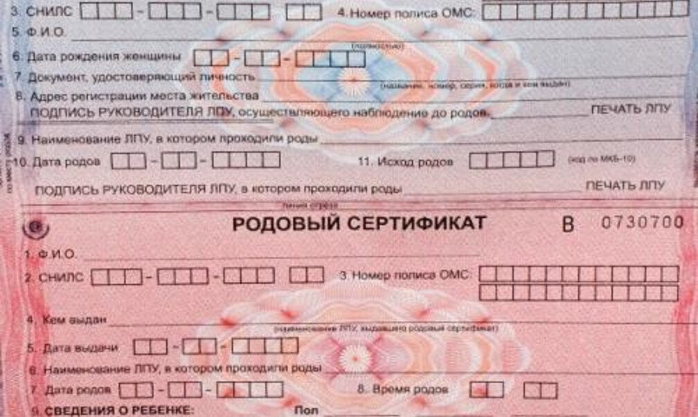 Для чего нужен и кому выдается родовой сертификат, состав документа, его денежный эквивалент:  как получить родовой сертификат
