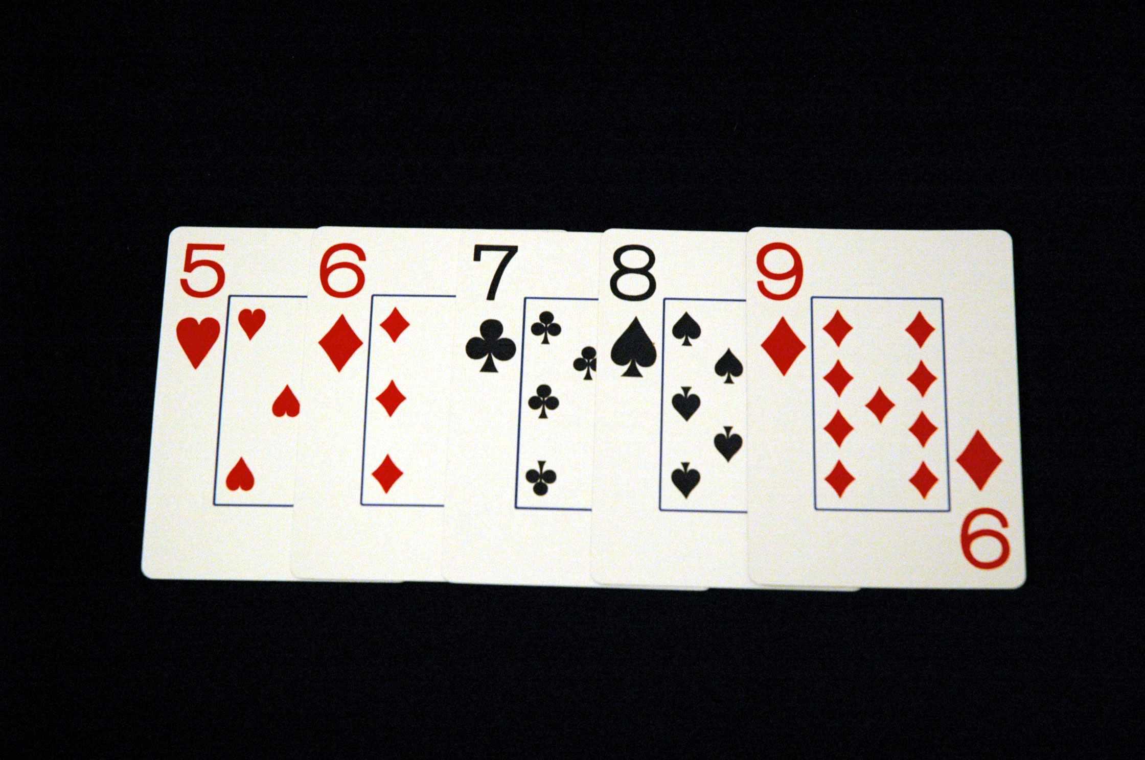 Стрит в покере (комбинация)