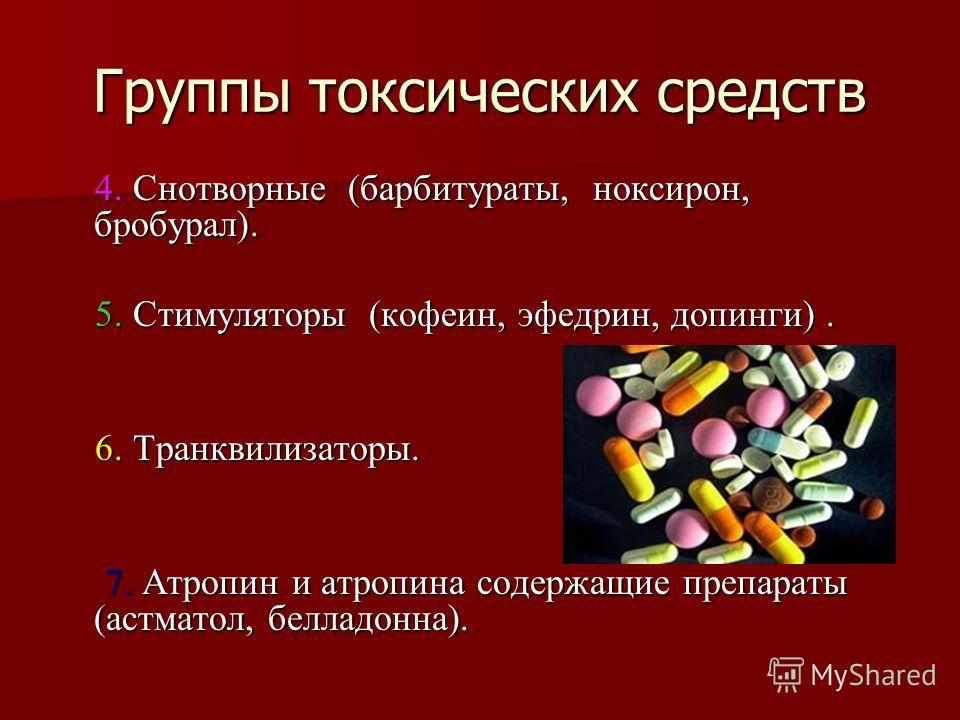 Список препаратов содержащих барбитураты