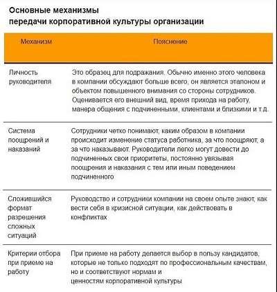 Виды и типы корпоративной культуры организации
