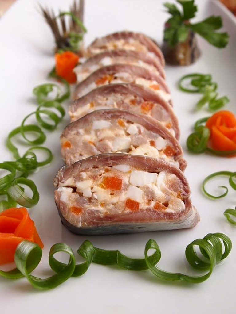 Галантин из свинины рецепт. как приготовить галантин