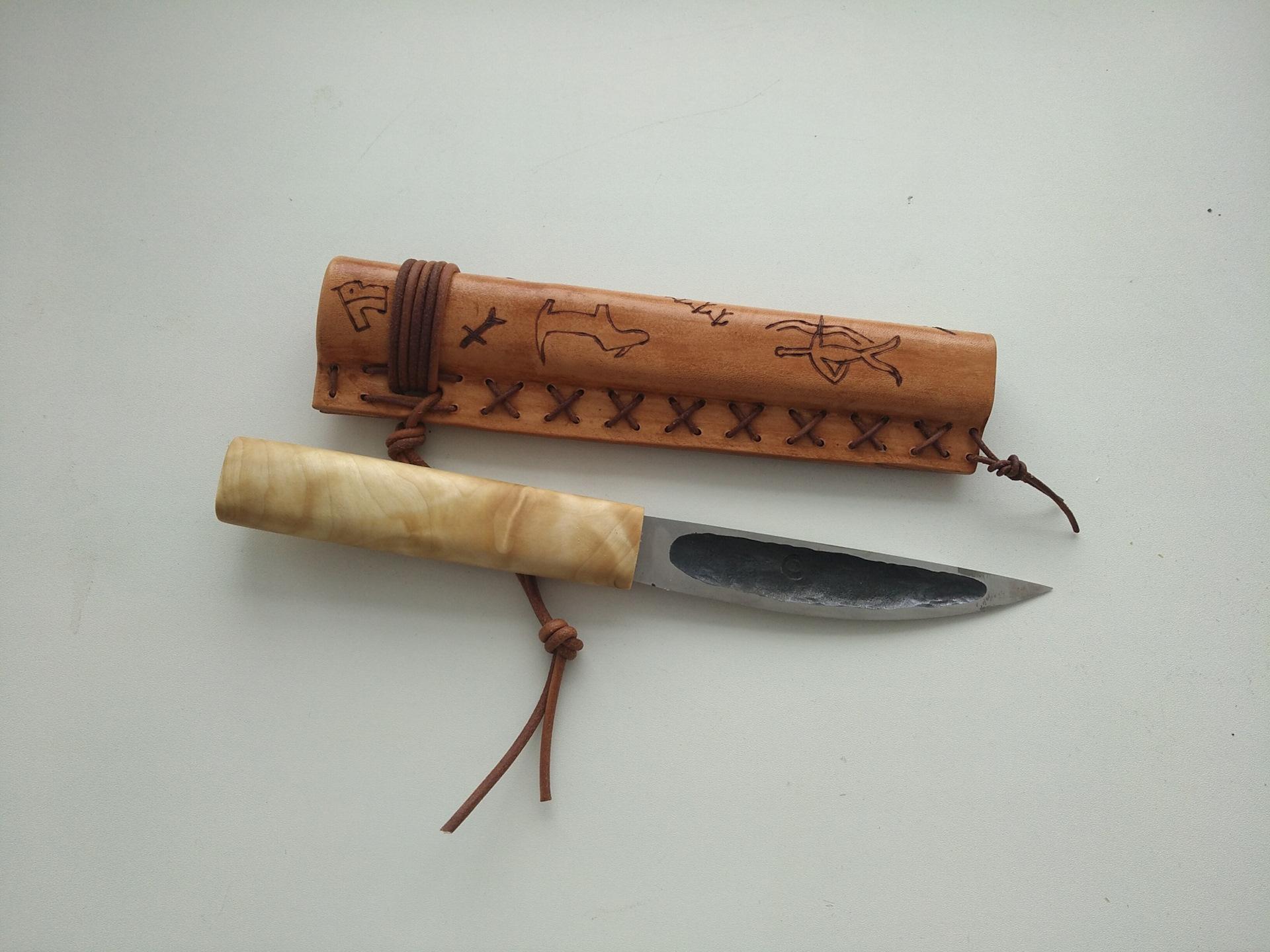 Ножны для ножа своими руками из кожи, дерева или пластика