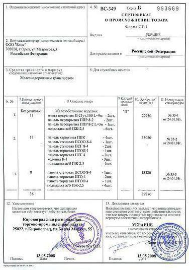 Сертификат ст-1 в госзакупках | контур.закупки