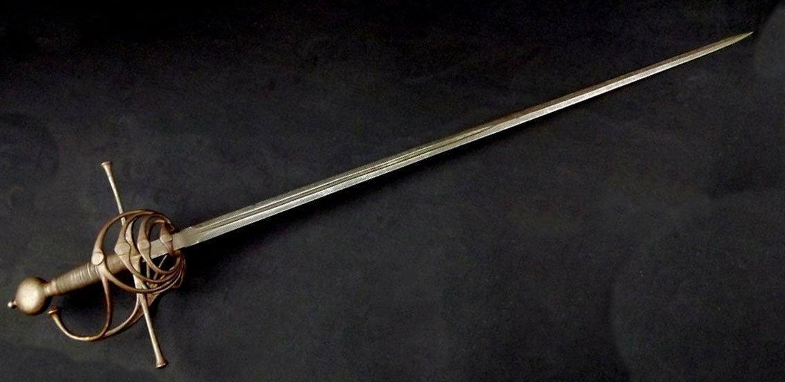Шпага: самое благородное холодное оружие