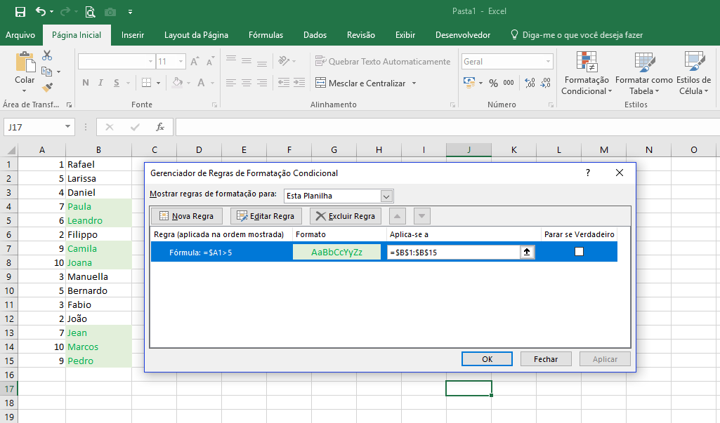 Нестандартное условное форматирование по значению ячейки в excel