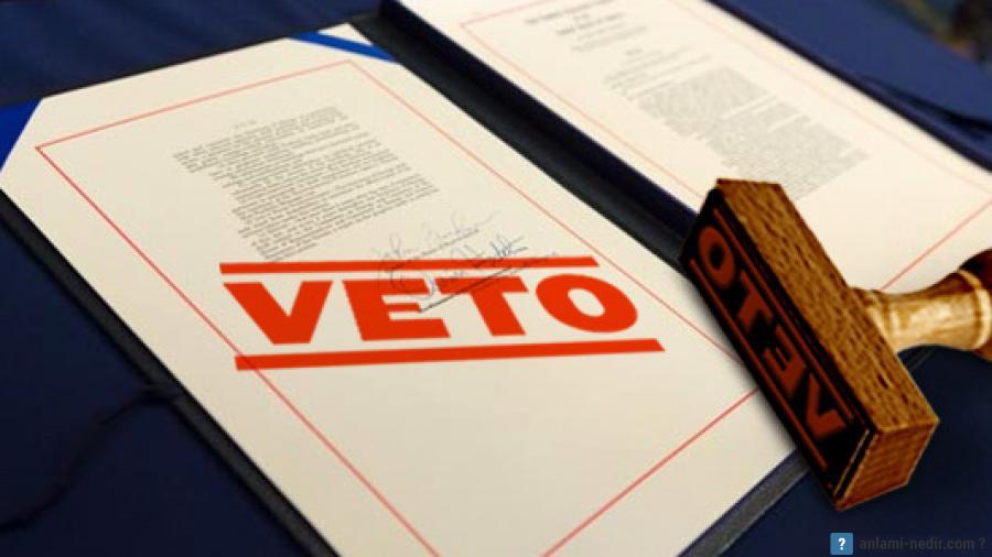 Вето — это... что такое вето: сильное и слабое вето, преодоление вето и карманное вето