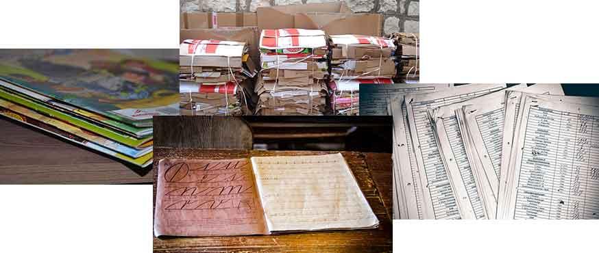 Макулатура: сорта, марки, как перерабатывается