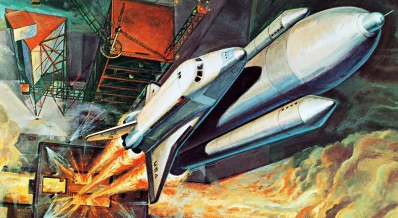 «спейс шаттл». на шаг ближе к космосу