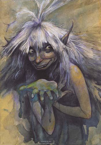 Кикимора | фантастические существа вики | fandom