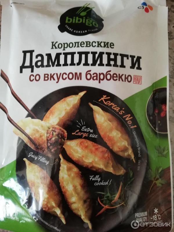 Корейские дамплинги: рецепт с мясом