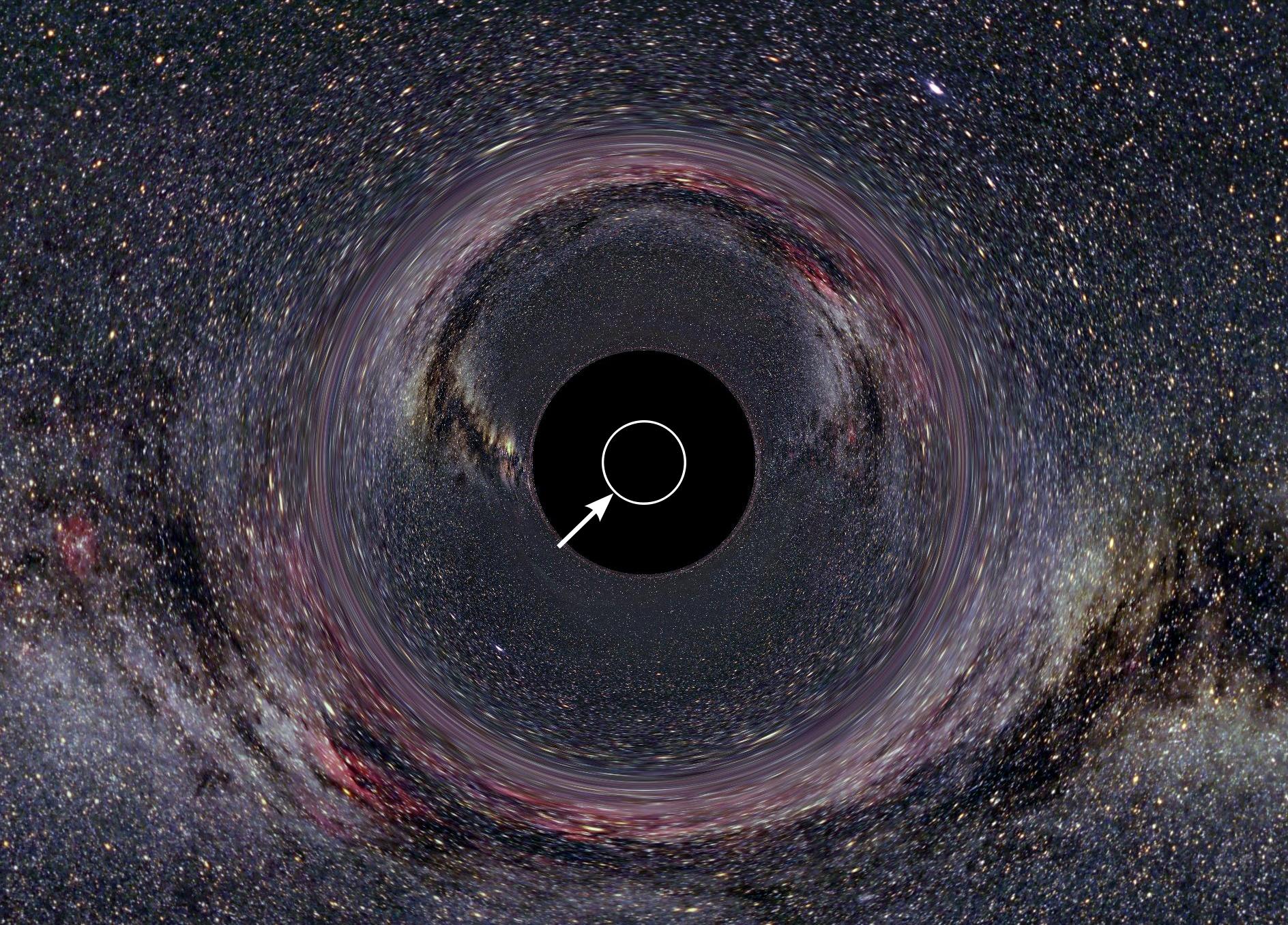 Что такое горизонт событий? | new-science.ru