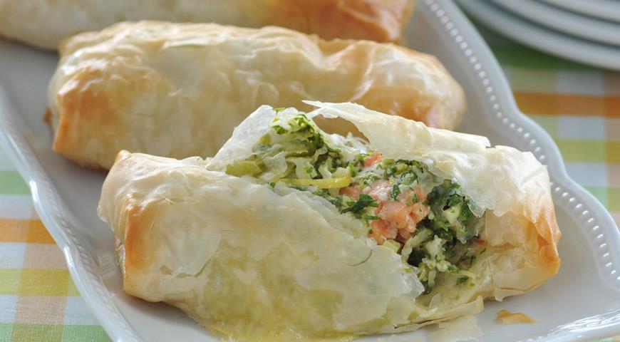 Тесто фило  по-мароккански – кулинарный рецепт
