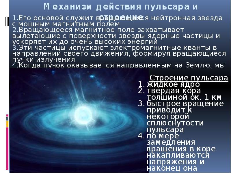 Что такое пульсар: определение, особенности и интересные факты