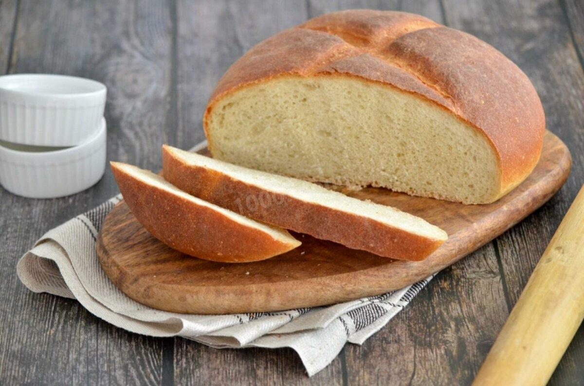 Подовый хлеб в духовке