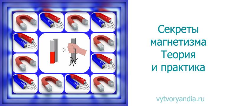 Магнетизм - физика - теория, тесты, формулы и задачи - обучение физике, онлайн подготовка к цт и егэ.