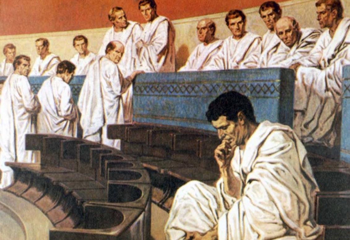 2.2. высший государственный орган (сенат) древнего рима.
