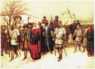 Список новгородских посадников — википедия. что такое список новгородских посадников
