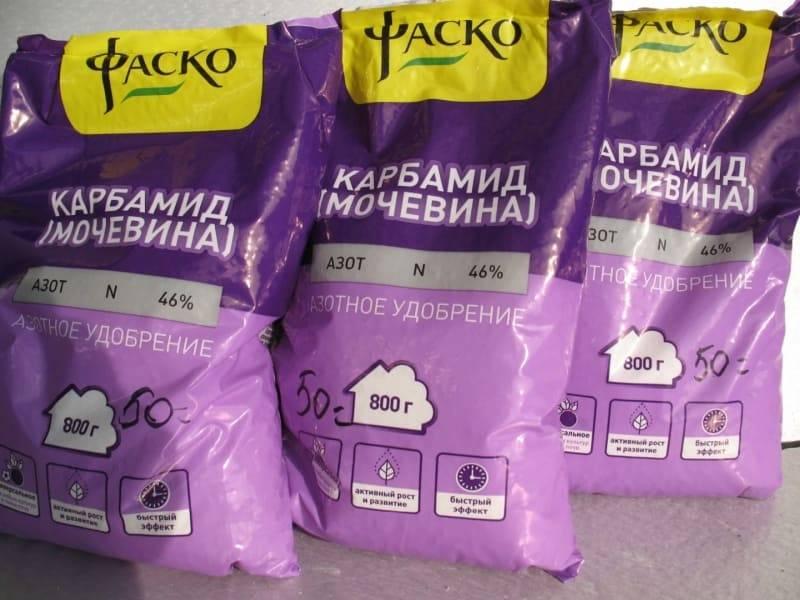 Удобрение мочевина: применение на огороде карбамида