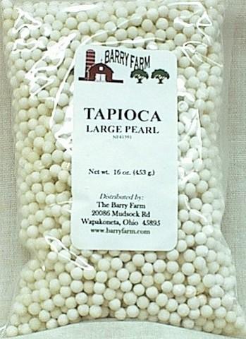 Тапиока - рецепты