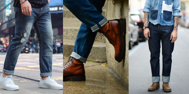 45 lively ways to style pinroll jeans – cuffing your pants perfectly
