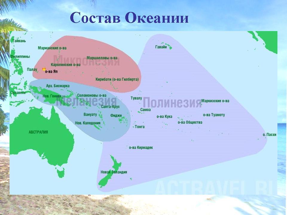 Австралия и океания — википедия. что такое австралия и океания