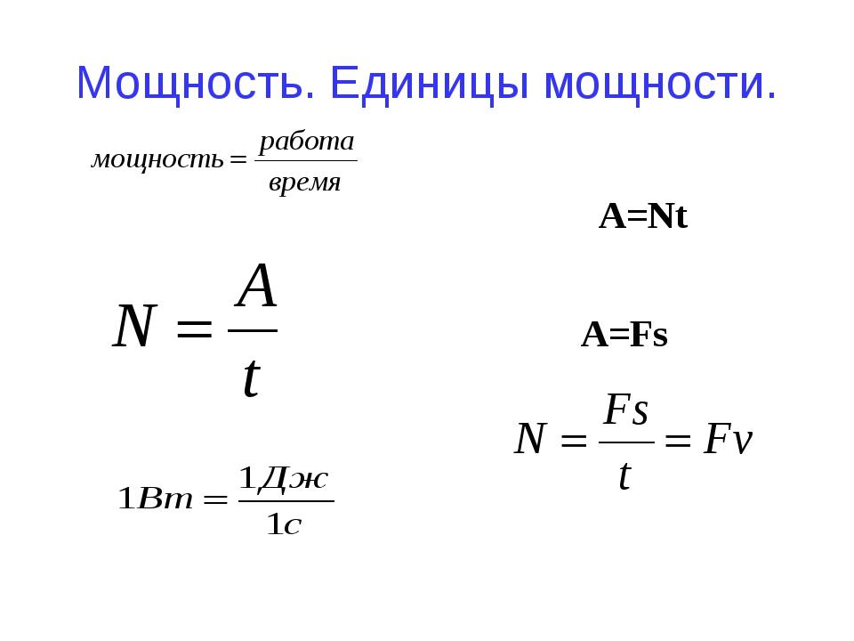 Полная мощность: единица измерения, как определить, формула