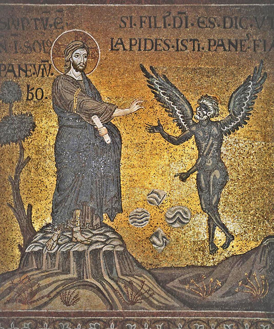 Искушение христа — википедия. что такое искушение христа