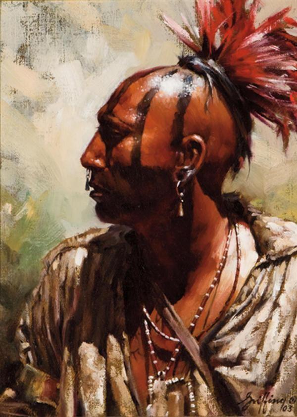 Стильная мужская укладка в стиле ирокез