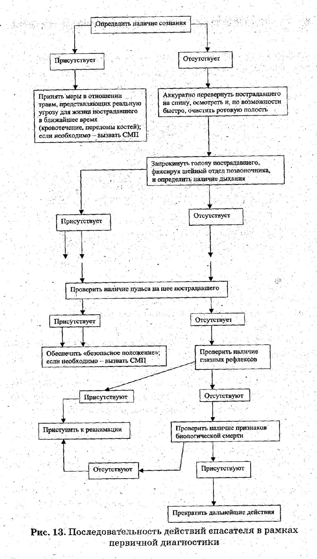 Стадии и этапы сердечно-легочной реанимации