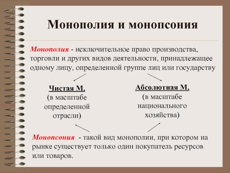 Или производители для монопсонии. монопсония: примеры и определение