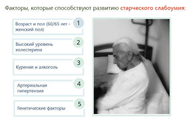 Лечение деменции у пожилых людей: препараты для разных стадий заболевания