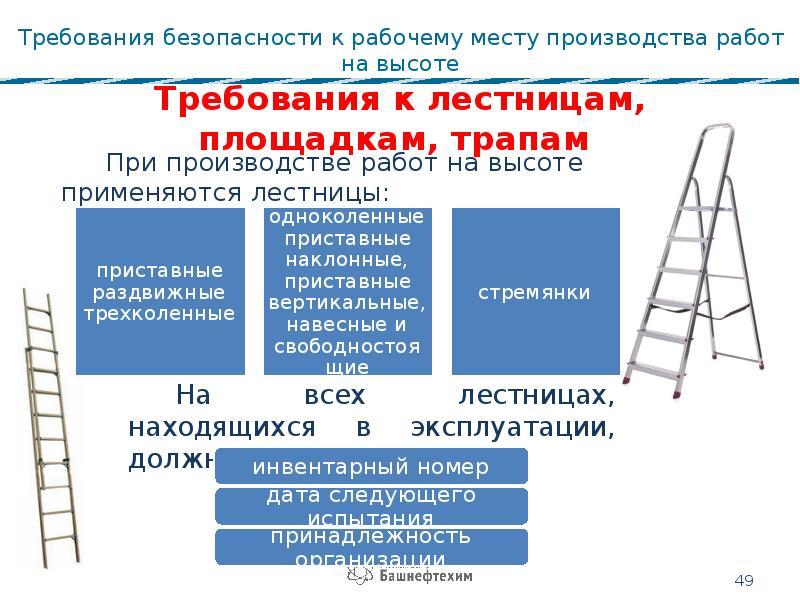 Работы на высоте: определение и какие относятся