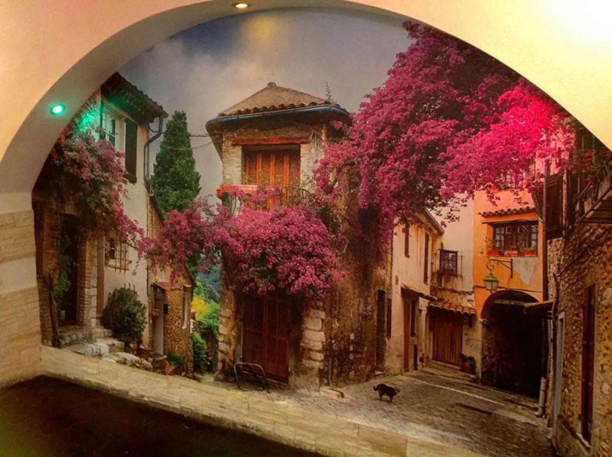 Стильные фрески в интерьере дома — оригинальная отделка любого помещения
