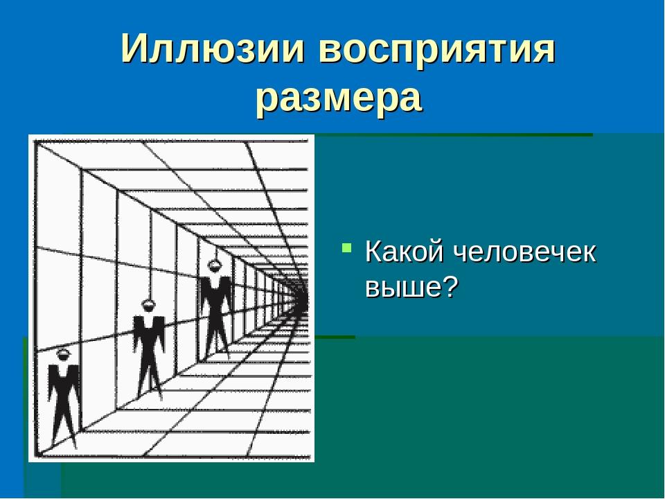 Иллюзия - чем иллюзии отличаются от галлюцинаций?